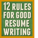 12 good writing rules