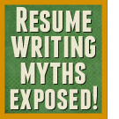 Harmful resume writing myths exposed
