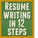 Resume writing in 12 steps