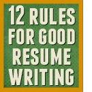12 good writing rules