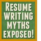 Harmful resume writing myths exposed