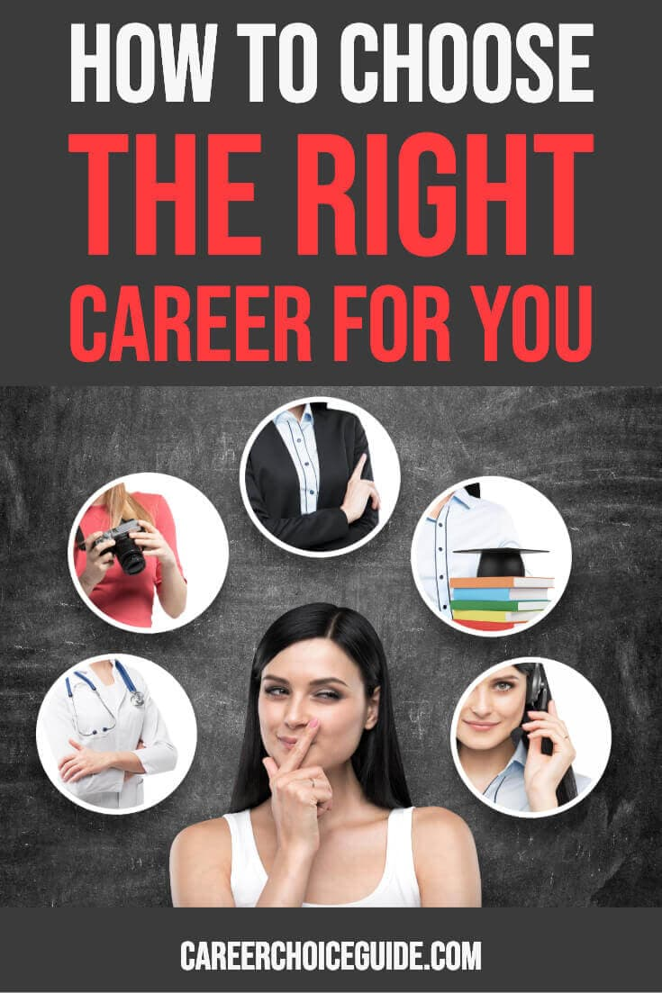 How to choose the right career for you.