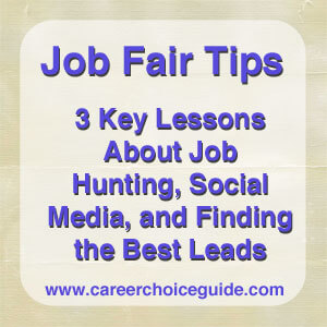 job fair tips lessons about job hunting