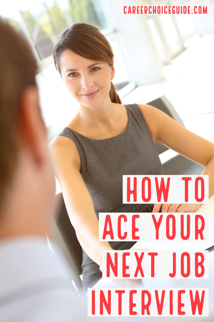How to ace your next job interview.